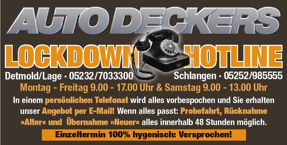 Lockdown Hotline Lippe