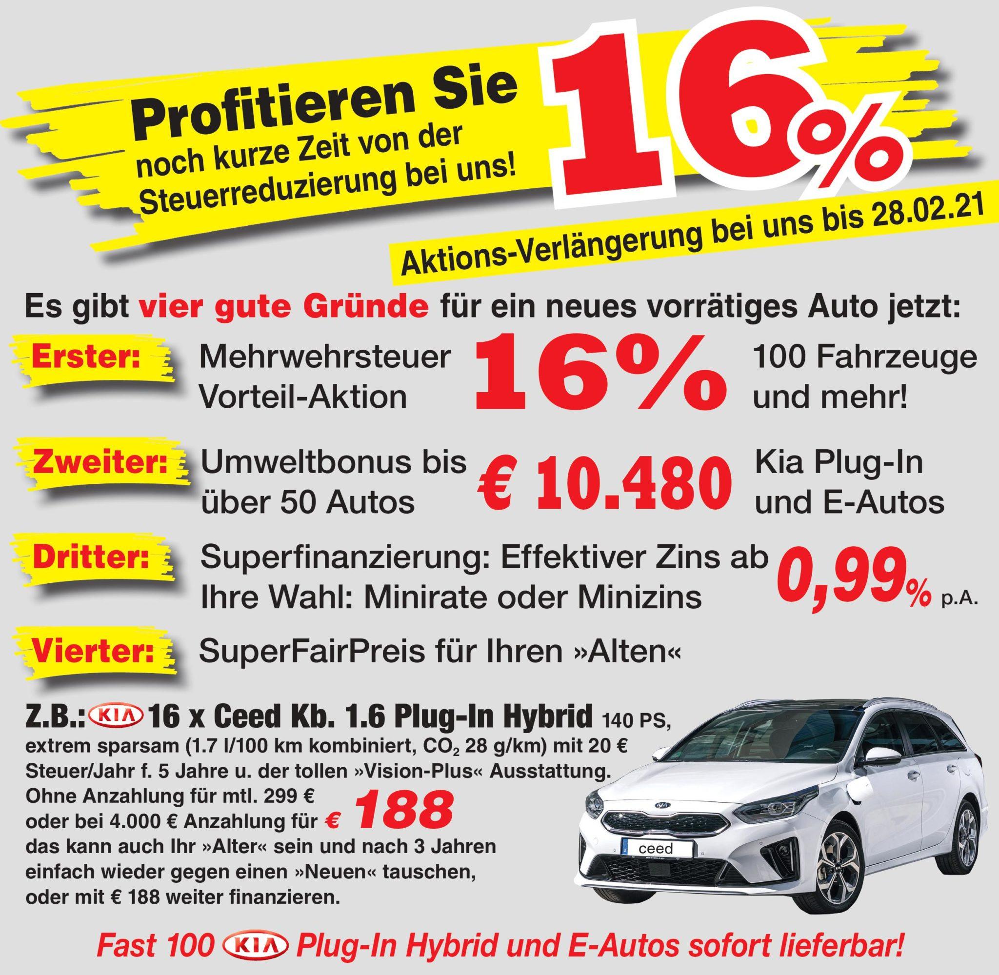 Auto Deckers Profitieren